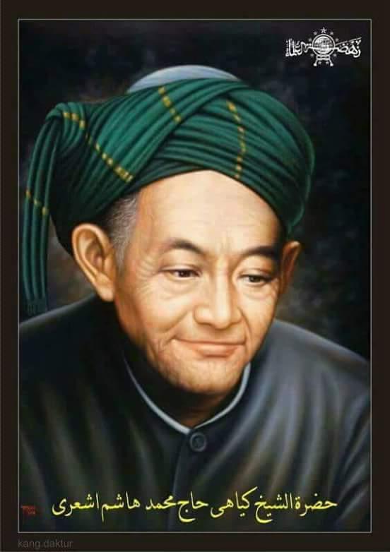 Kh.hasyim Asyari : kh.hasyim, asyari, Sanad, Keilmuan, Hasyim, Asy'ari, (Pendiri, Hasan, Al-Asy'ari, Hingga, Rasulullah