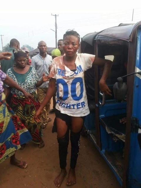 HEARTBREAKING DETAILS OF HOW A GIRL ESCAPED RITUALISTS AS SHE WAS ABOUT TO BE BUTCHERED (PHOTOS)