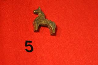 brązowy konik z Wolina
