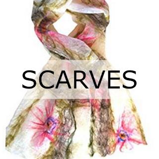 Handmade Scarves by Mimi Pinto