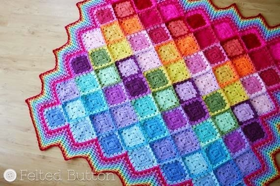 Free Join as You Go Crochet Blanket Pattern
