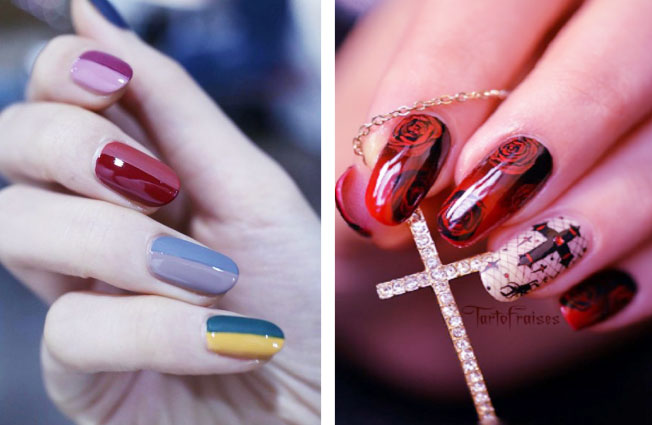 Nail Polish Art With Gorgeous Color Combinations