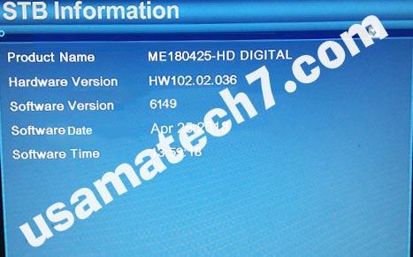 ALI3510C HARDWARE VERSION HW102.02.036 POWERVU KEY NEW SOFTWARE BY USB