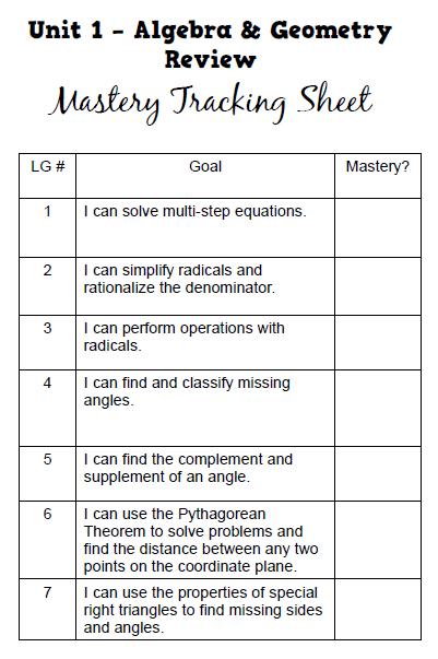 trigonometry a clever study guide