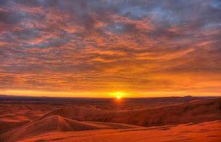 صور رائعة لغروب و شروق الشمس بمرزوكة