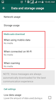 Stop Auto Download, Whatsapp Auto Download stop