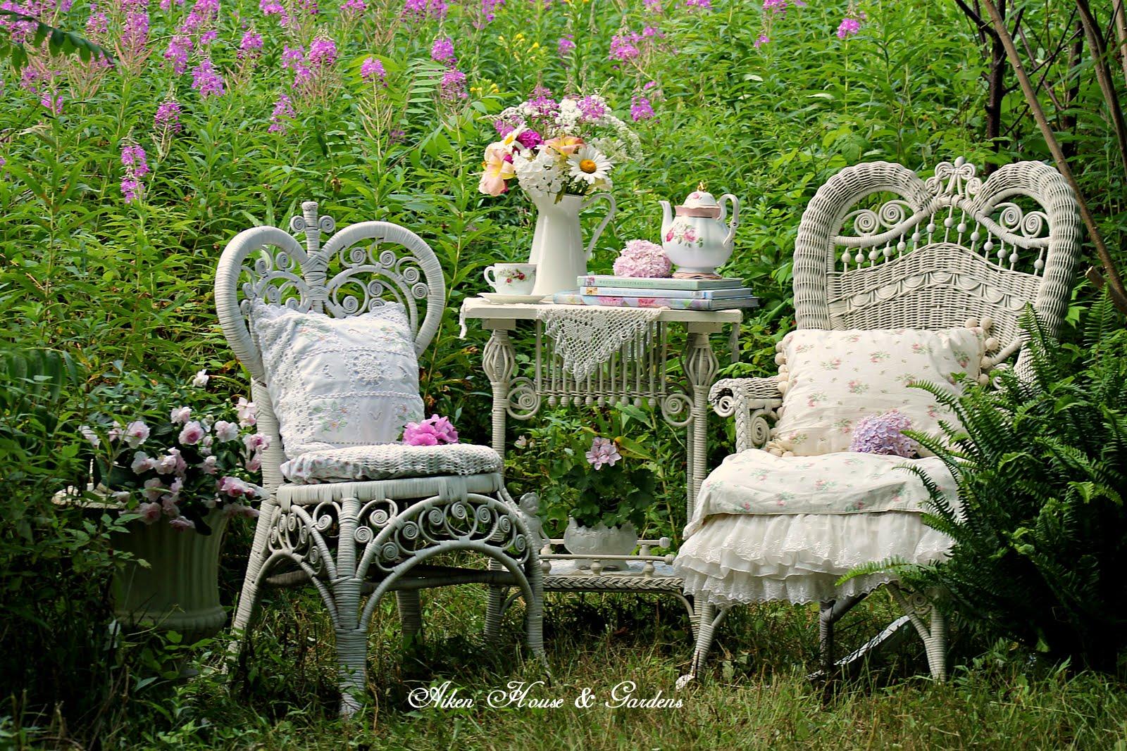 Aiken House & Gardens: Our Romantic Garden on Romantic Patio Ideas id=46655