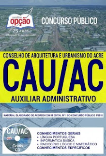 Apostila Digital Concurso CAU AC 2018/2019 Download