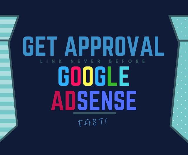 Get Google Adsense approval fast