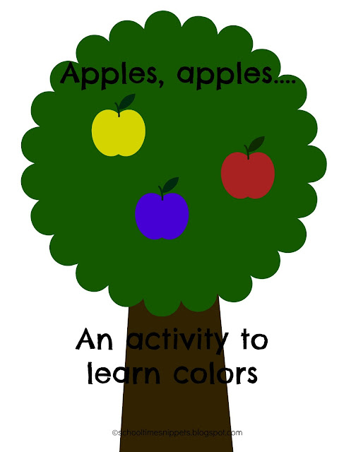apple song for preschoolers