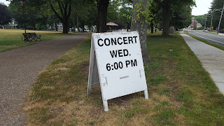 concerts on the common - Wednesday at 6:00 PM