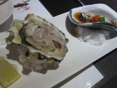 The Oyster and Crab Restaurant, oysters