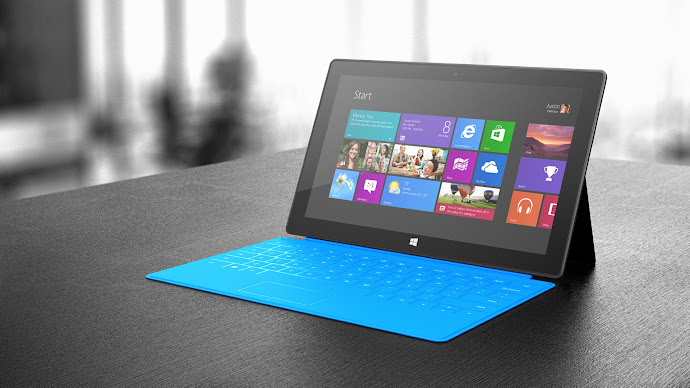 Wallpaper: Microsoft Surface Tablet Win 8