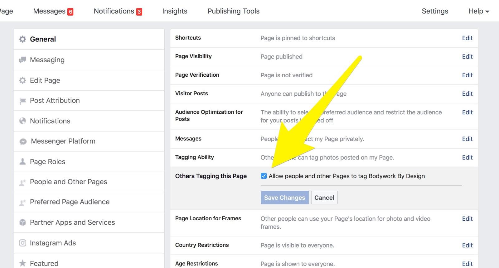 Bodywork Buddy Blog : The Biggest Facebook Setting Mistake