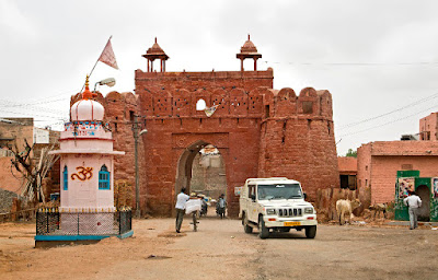 Nagaur city  old town Gate
