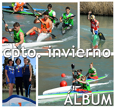 Piragüismo Aranjuez Campeonato Invierno Madrid