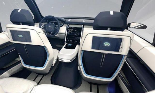 2018 Land Rover LR4 Interior