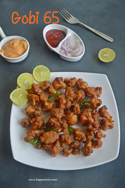 Gobi 65 Recipe | Golden Fried Cauliflower 65