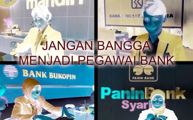 Hukum Menjadi Pegawai Bank
