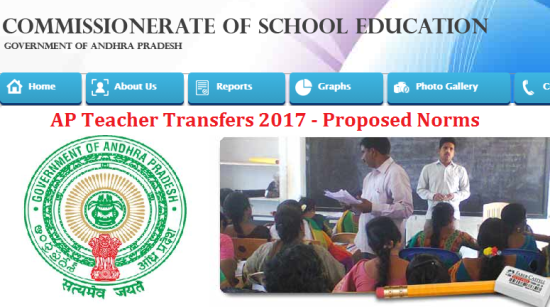 AP Teacher Transfers Online Application Form at http://cse.ap.gov.in | Proposed Guidelines for Online Teacher Transfers 2017 in AP-Objections may send to @cse.ap.gov.in | Andhra Pradesh School Education Dept has prepared draft guidelines for transfer of Headmasters and Transfers in AP through Online Mode, objections may send to cseap.est3@gmail.com on or before 27.03.2017 5pm | Tentative Norms for Awarding entitlement Points to teachers and Headmasters in Andhra Pradesh for 2017 year | Criteria for Transfers and Entitlement Points Preferential Points Performance Points Special Category Points online-application-form-andhra-pradesh-ap-teacher-transfers-cse.ap.gov.in-web-options-allotment-orders-download