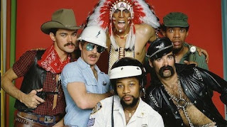 The village people in all their glory.