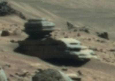 A definite Alien base not a tank