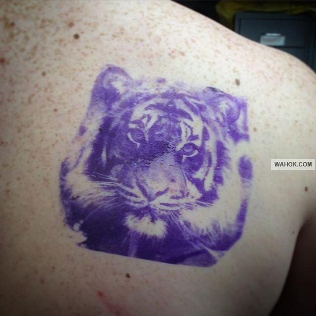 20 Gambar Tato 3D Harimau 2017 Terbaru Paling Keren Untuk Inspirasi Pria Dan Wanita