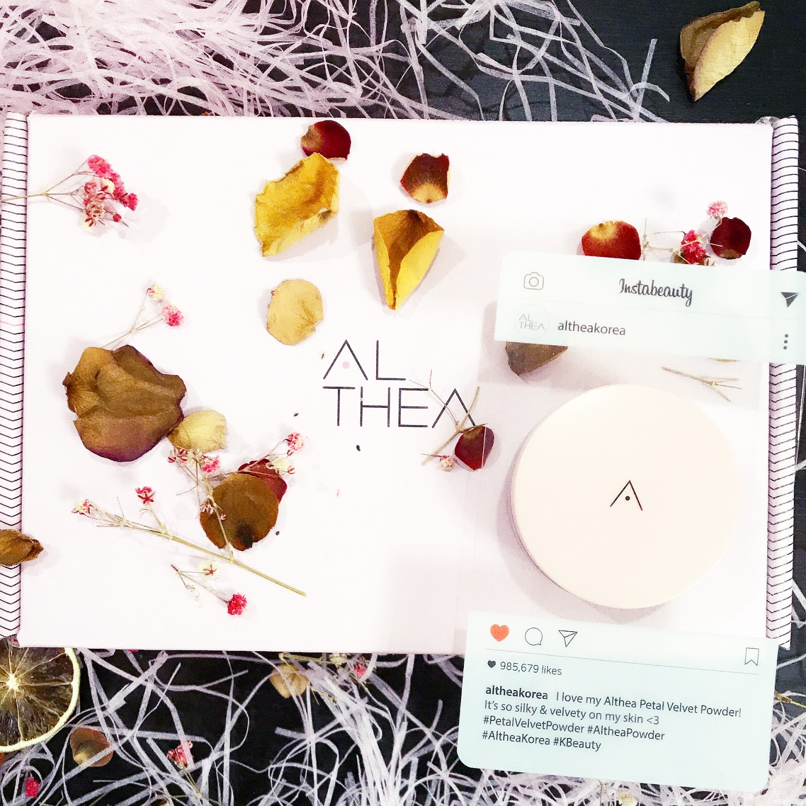 [Beauty Review] Althea Petal Velvet Powder @ Althea Korea