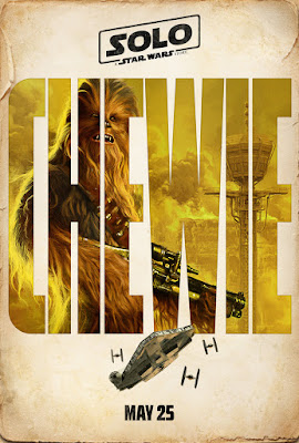 Solo A Star Wars Story Chewbacca poster