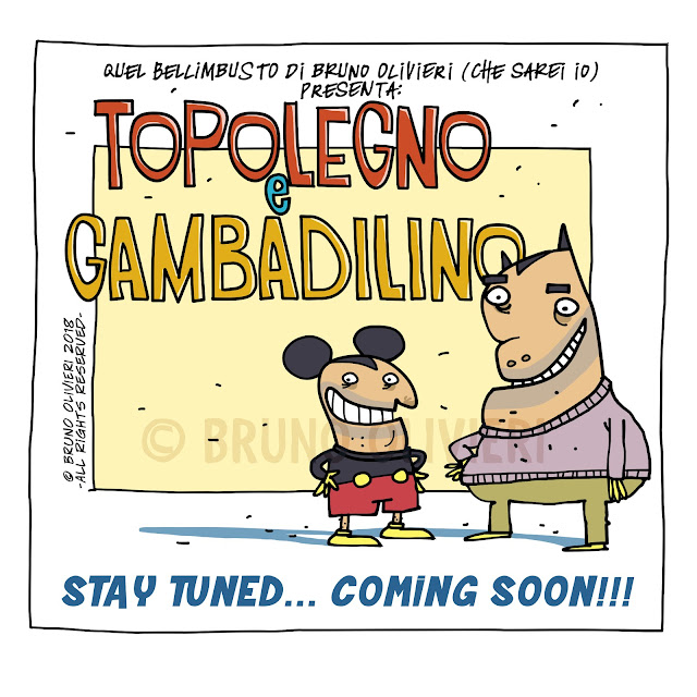 Topolegno e Gambadilino - © Bruno Olivieri 2018