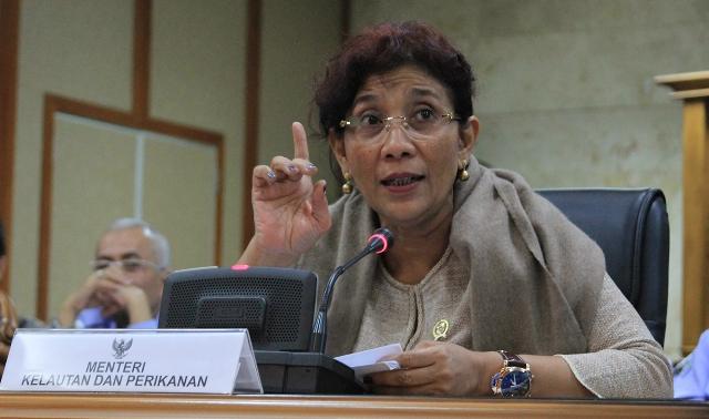 Menteri Susi: Yang Boleh Tangkap Ikan Hanya Orang Indonesia