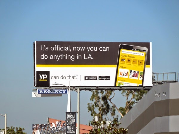 do anything in LA YP billboard