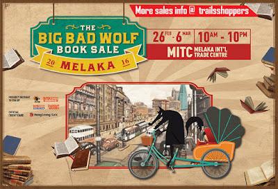 The Big Bad Wolf Books Sale Fair Melaka 2016