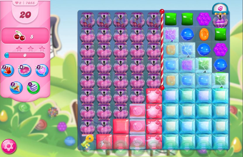 Candy Crush Saga level 7055