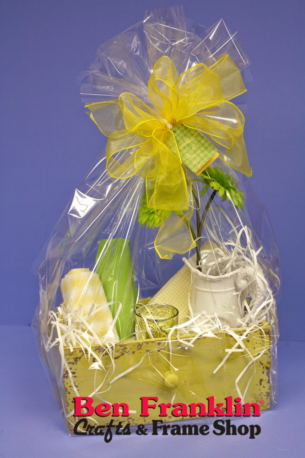 Ben franklin crafts and frame shop hostess gifts and easter gift we have pre made gift baskets available in the store and would also be happy to help you with your own gift basket theme and negle Images