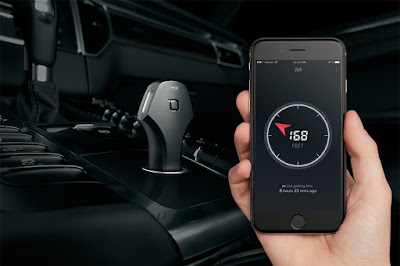 Zus phone charger and app for smart phone.