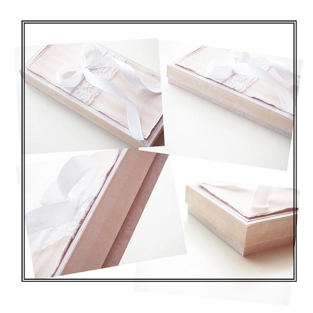 Kurs na pudełko do kartki DL. / A step by step tutorial for a DL card box.