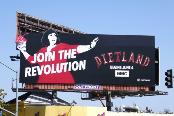 Join the revolution Dietland billboard