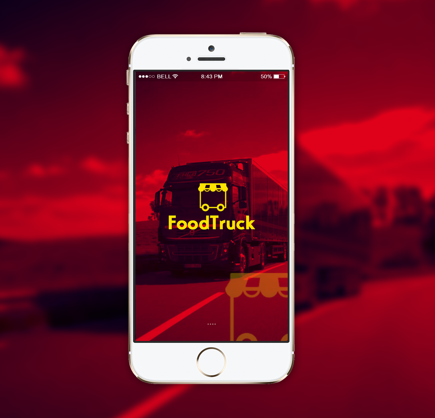 Food Truck App UI Inspiration