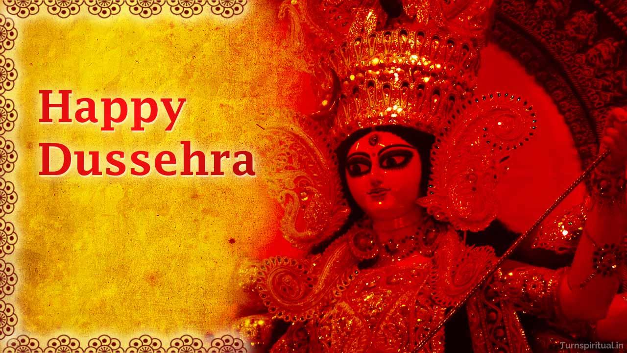 happy dusshera wallpaper for desktop