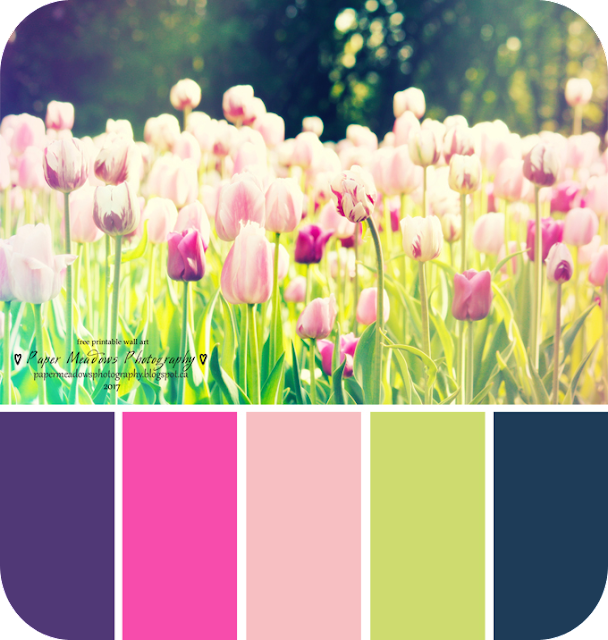 Paper Meadows Photography Blog-Free Printable Tulip Wall Art