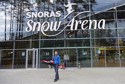 Крытый горнолыжный комплекс в Литве: Снорас Сноу Арена