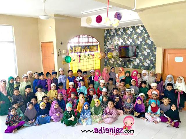 Izzat Berhari Raya Bersama Cikgu & Kawan-Kawan