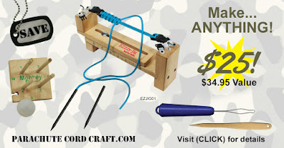 The ULTIMATE Paracord Tool Bundle: Only $25 at ParachuteCordCraft!