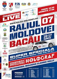 Afis Raliul Moldovei Bacau 2017