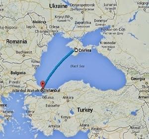 İstanbul-Simferopol Uçakla Yolculuk