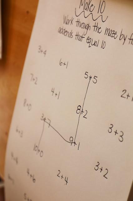 make your own math maze