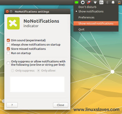 How to Hide Notification in Ubuntu Linux