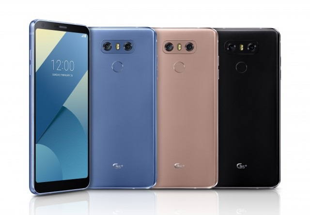 LG G6+ With 5.7-inch QHD+ LCD Display
