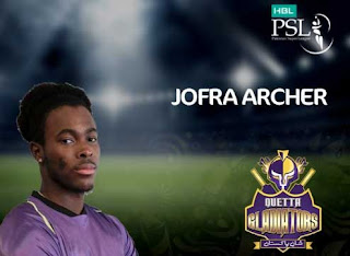 Jofra Archer in psl 3 in replacement draft